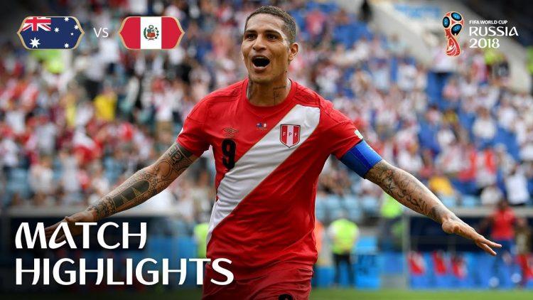 Australia v Peru – 2018 FIFA World Cup Russia™ – Match 38